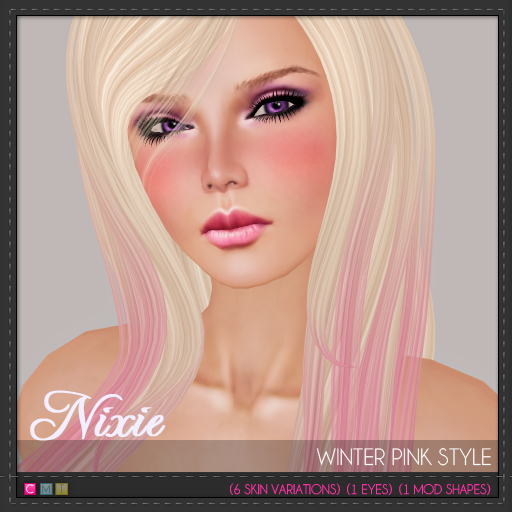 Nixie-Light-Winter-Pink